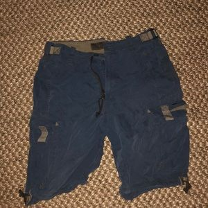 Vintage Abercrombie cargo shorts
